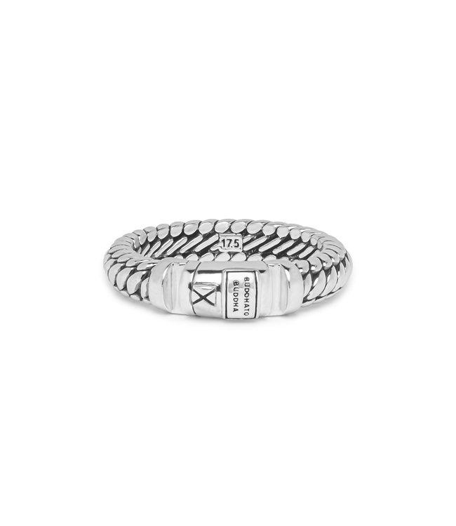 Ben XS Lock Ring Silver