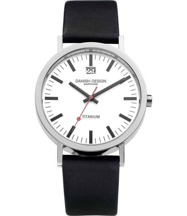 Danish Design Watch Iq12Q877 Titanium Sapphire Big-Date,