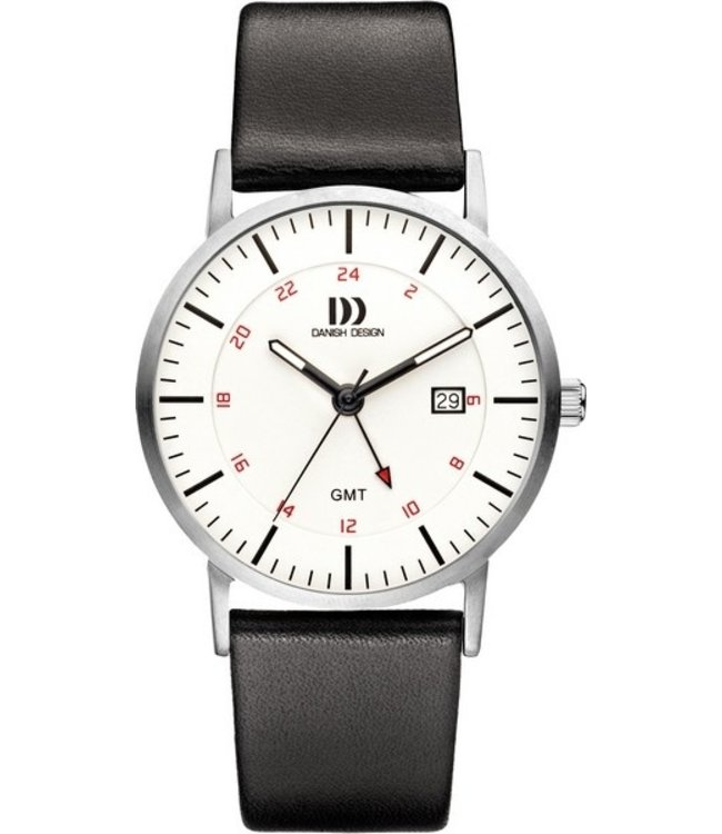 Danish Design Watch Iq12Q1061 Stainless Steel Sapphire Gmt.