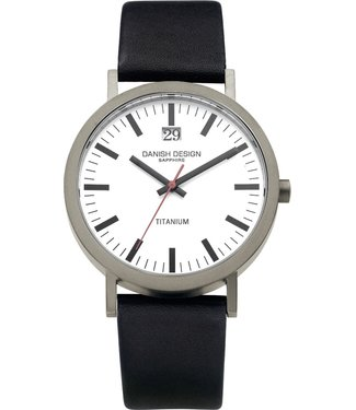 Danish Design Danish Design Watch Iq14Q877 Titanium Sapphire Big-Date,