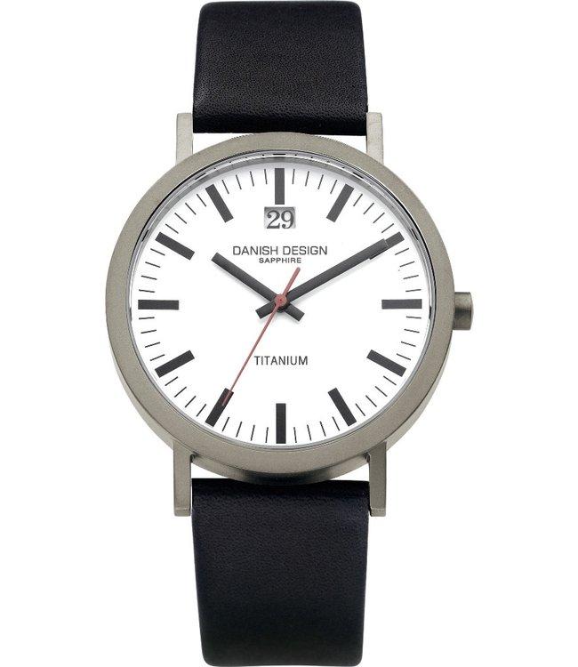 Danish Design Watch Iq14Q877 Titanium Sapphire Big-Date,