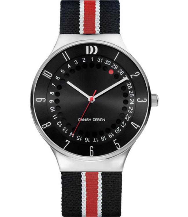 Danish Design Watch Date 360 Iq33Q1050 Stainless Steel.