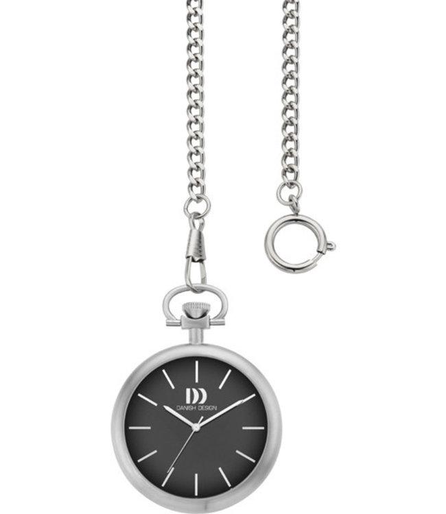 Danish Design Pocket Watch Iq13Q1134 Stainless Steel.