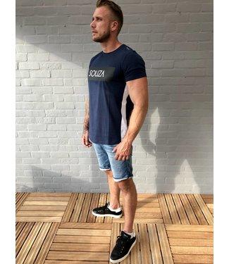 Souza-Amsterdam Men t-shirt Blauw