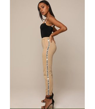 The Blonde Republic Joggingbroek beige