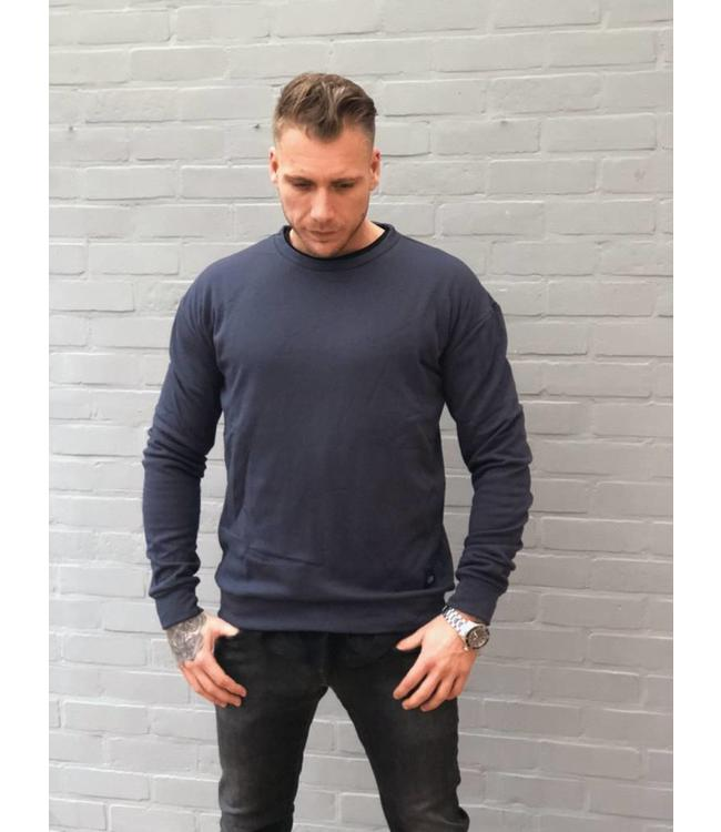 Sixth June Sweater donker blauw