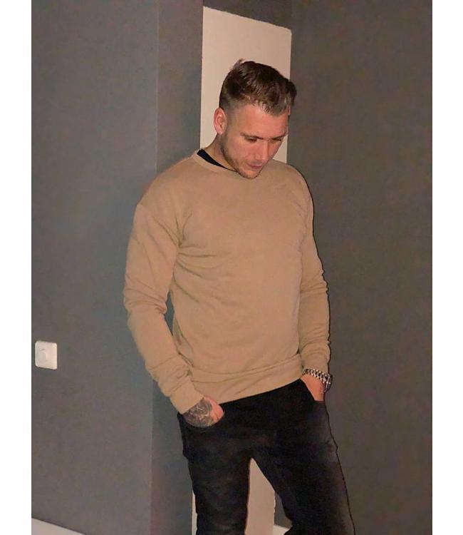Sixth June Sweater beige heren