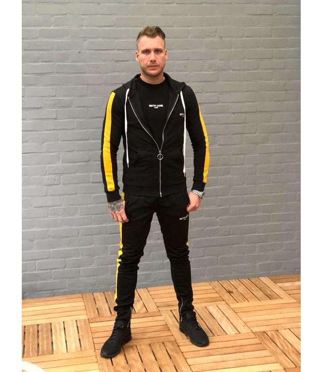 Sixth June Vest  zwart/geel
