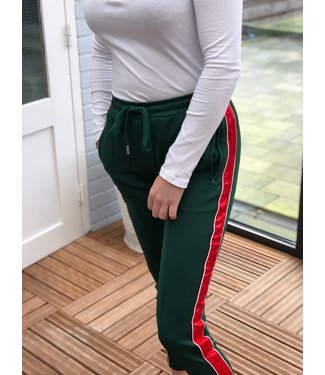 Sixth June Green red joggingbroek dames