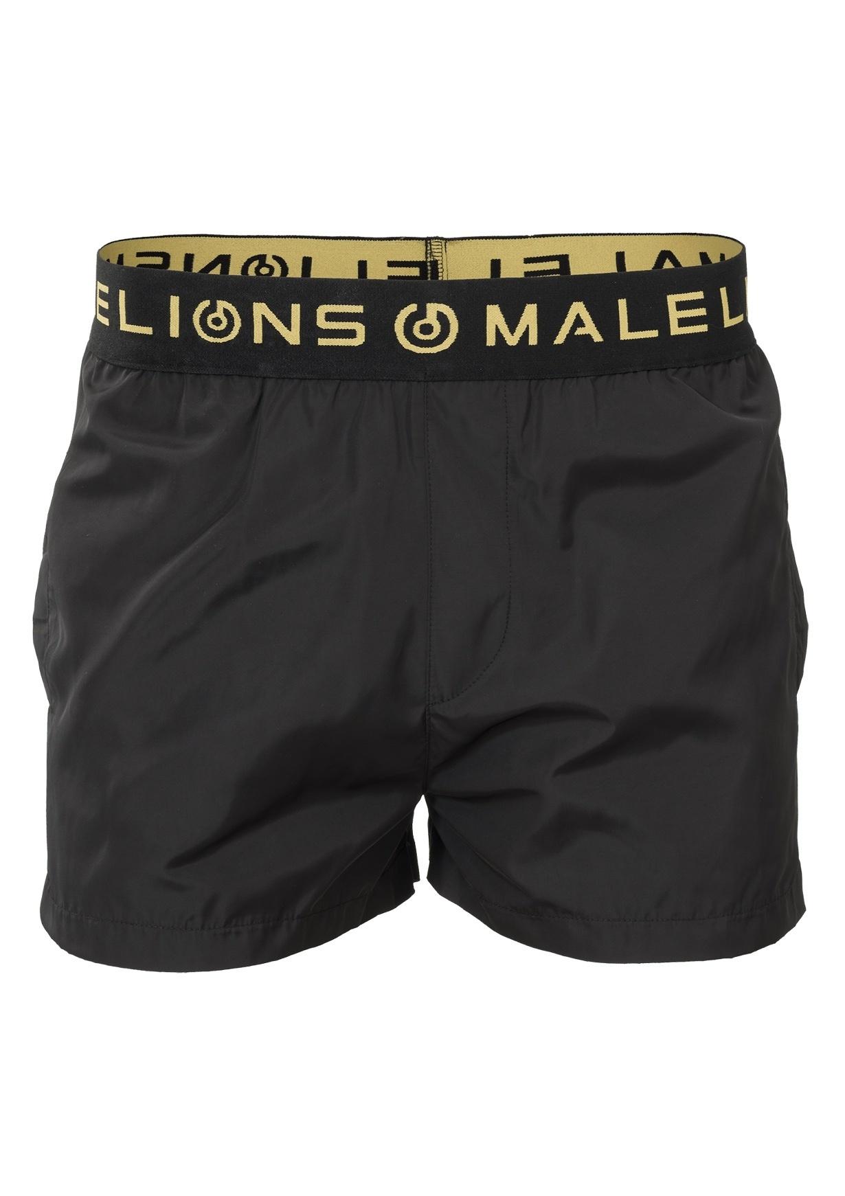 malelions gold black zwembroek