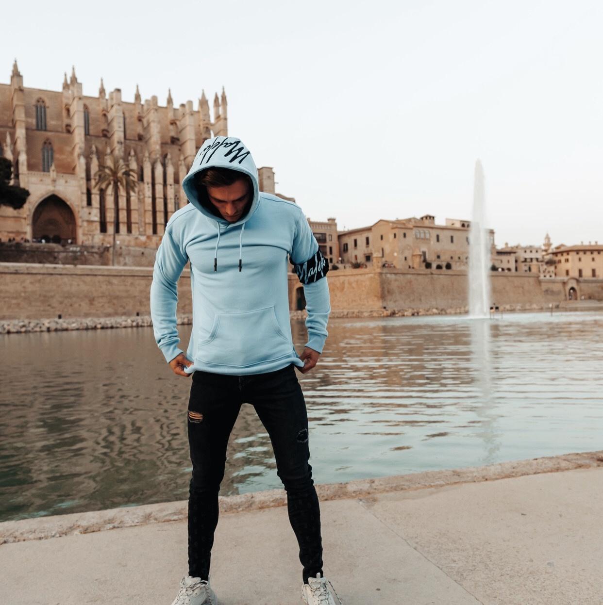 hoodie-mannen-blauw