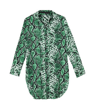 YCD Snake blouse groen