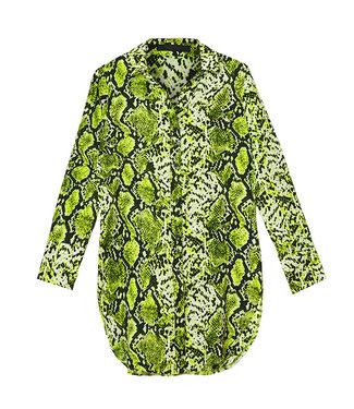 Snake blouse licht groen