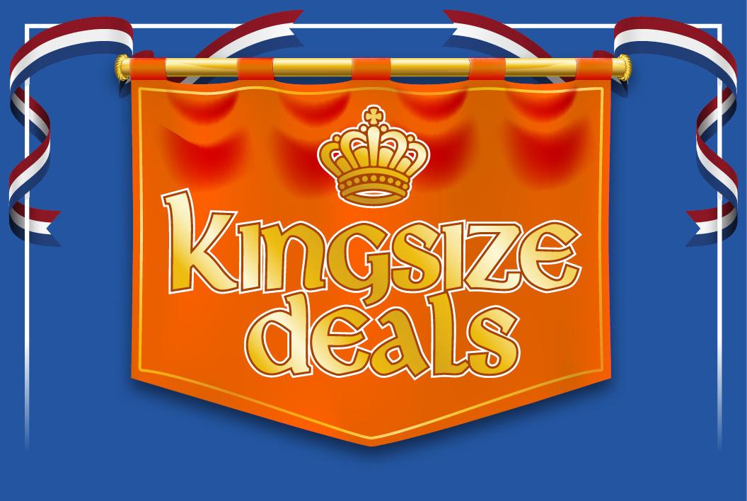 Mega King Sale