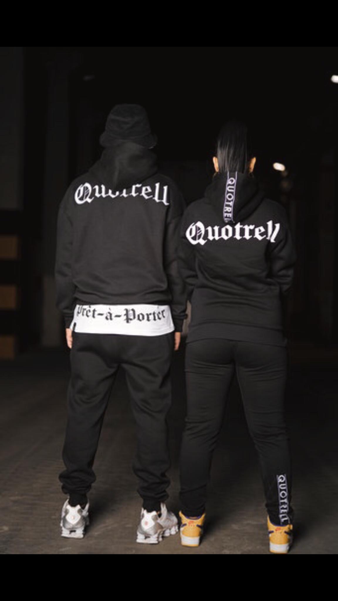 quotrell hoodies zwart