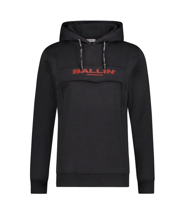Ballin hoodie rubber logo