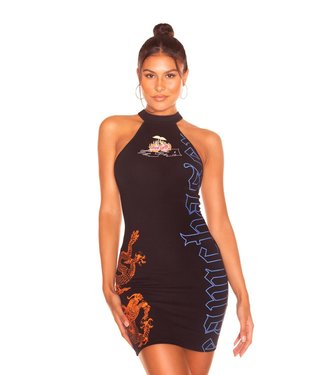 LA Sisters Mini cherry dress