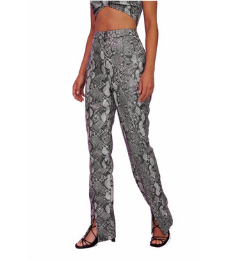 Na-Kd Front split snake pants