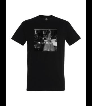 Fleek the label Jetset shirt zwart