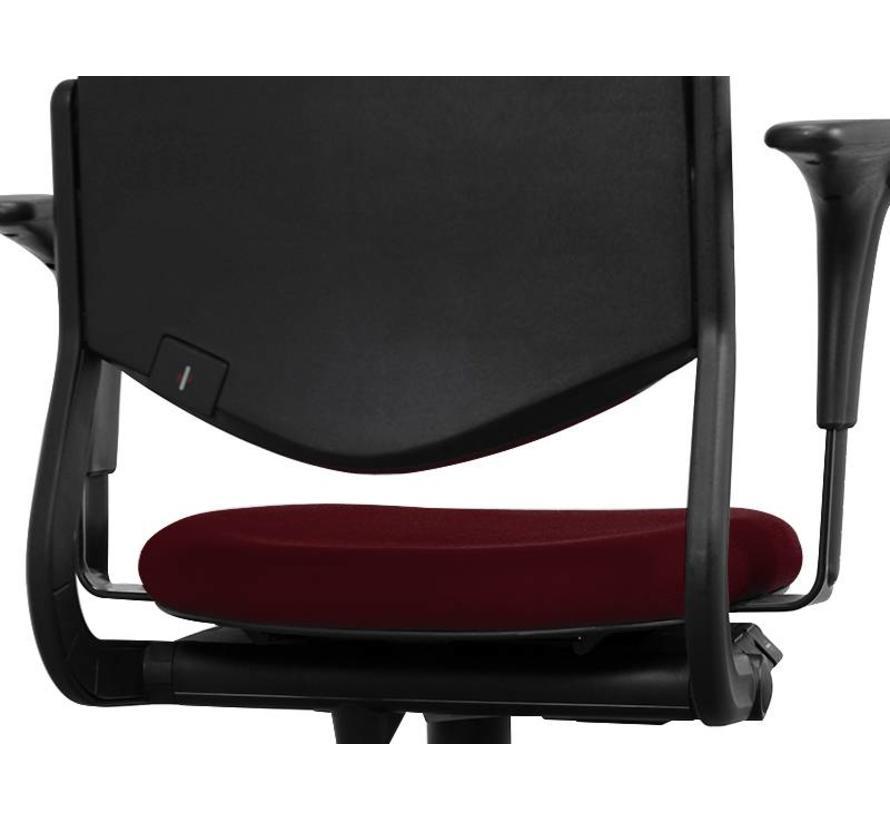Ahrend 220 Bureaustoel Bordeaux Rood | Nieuw gestoffeerd