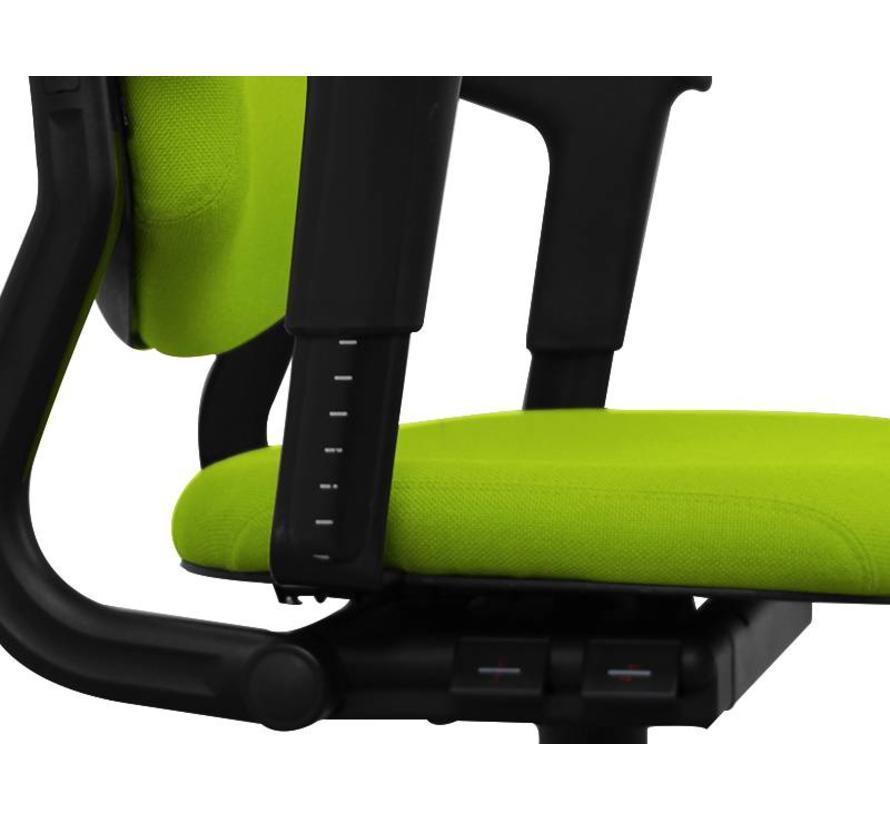 Ahrend 220 Bureaustoel Lime Groen | Nieuw gestoffeerd