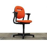 Ahrend Ahrend 220 Bureaustoel Oranje | Nieuw gestoffeerd