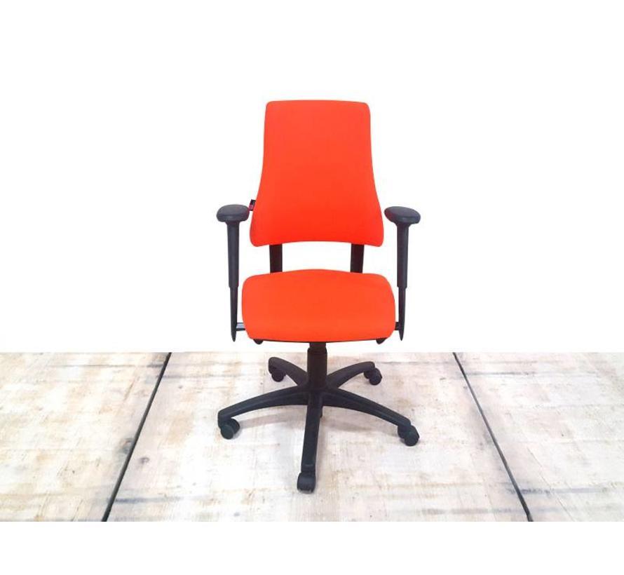BMA Axia Bureaustoel Oranje | Nieuw Gestoffeerd - Hoge Rug