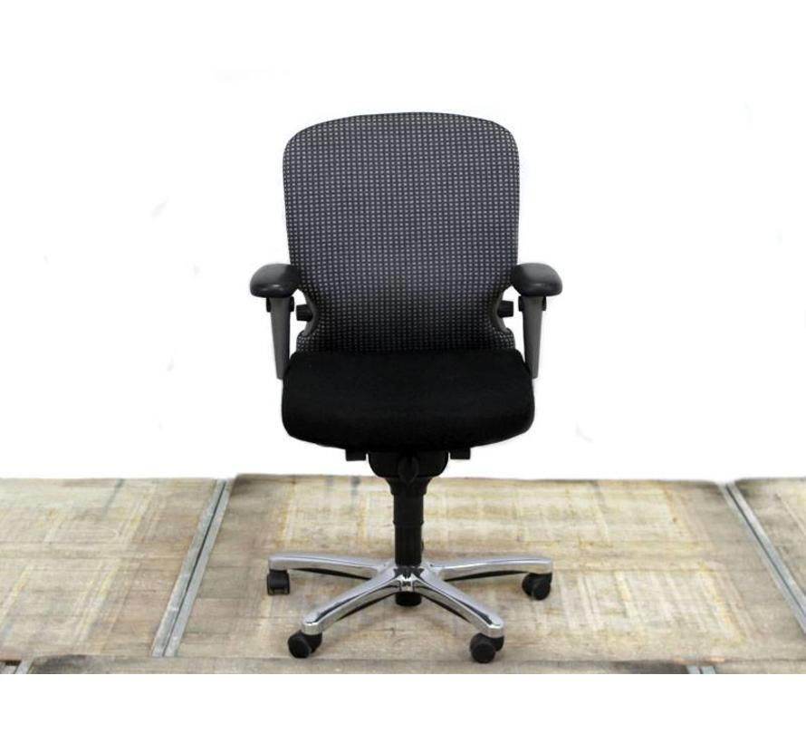 Haworth Comforto 77 Bureaustoel Zwart   Tempur ziting