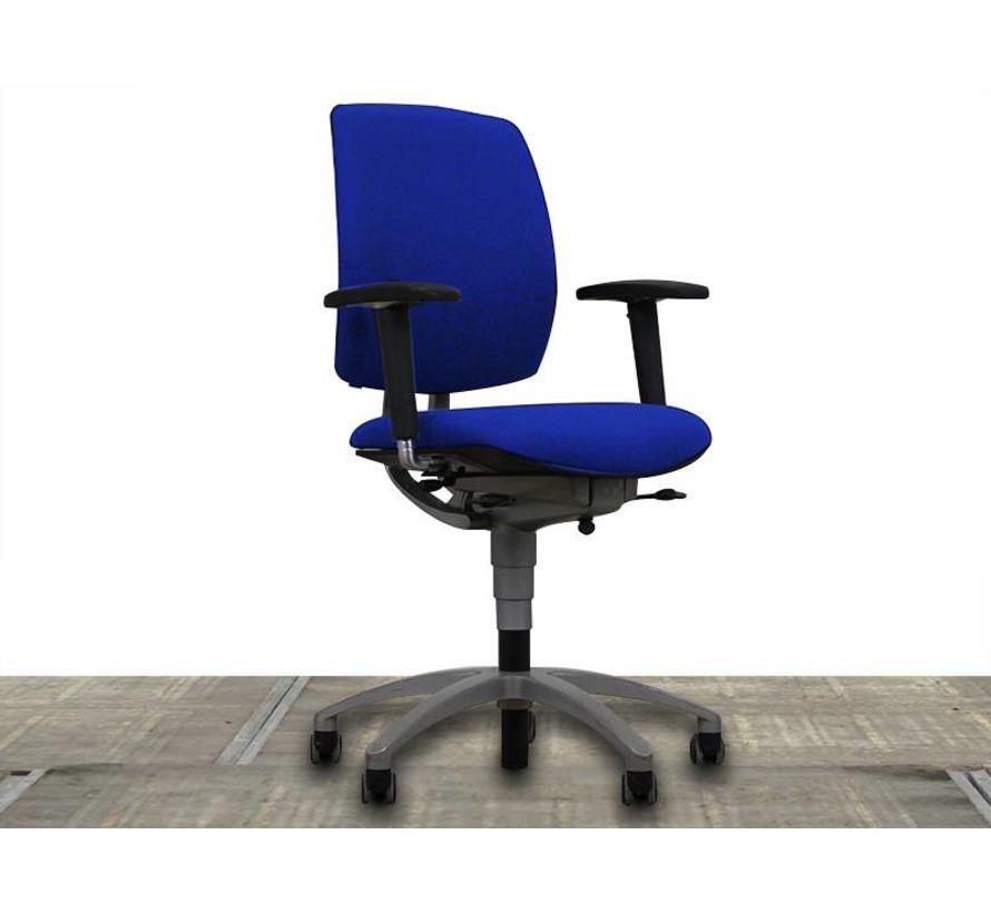 Drabert Entrada Bureaustoel Blauw   Nieuw Gestoffeerd