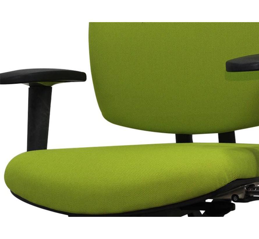 Drabert Entrada Bureaustoel Lime Groen | Nieuw Gestoffeerd