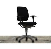 Drabert Drabert Entrada Bureaustoel Zwart | Aluminium Voetkruis
