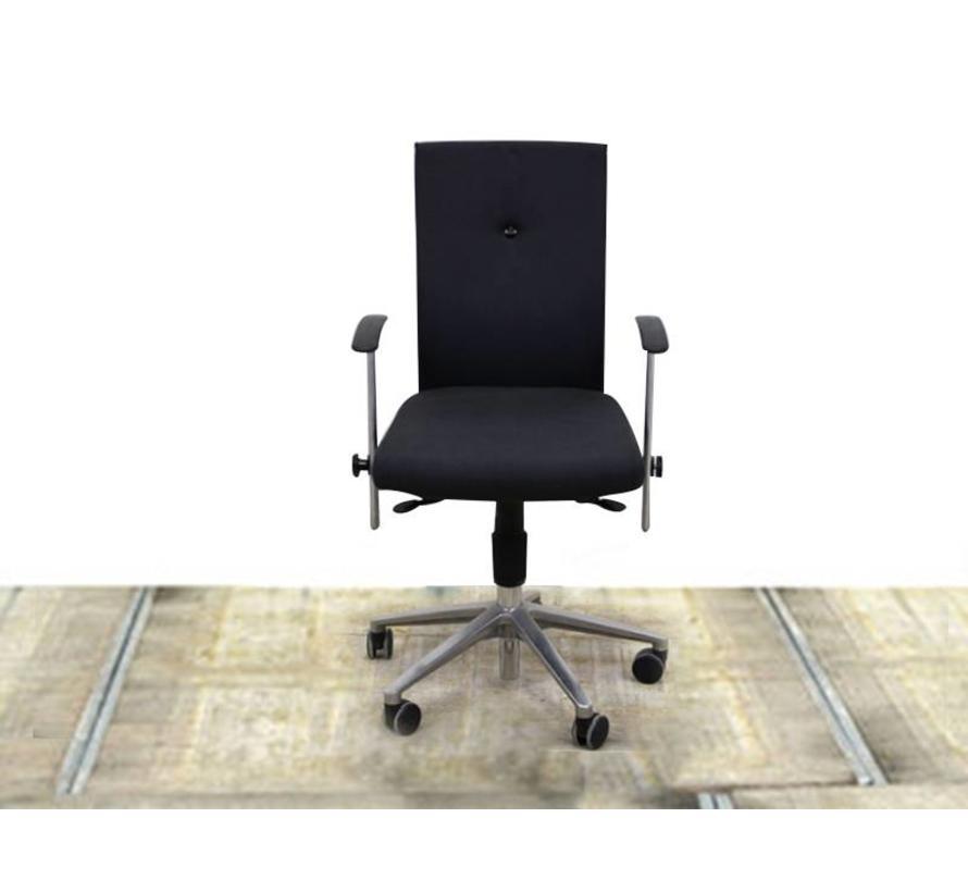 Fritz Hansen Spin Chair Burkhard Vogtherr Bureaustoel Zwart