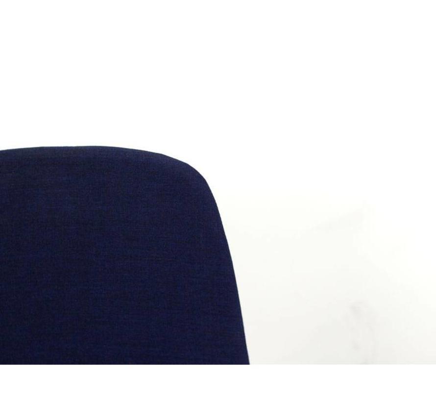 Kinnarps Monroe Vergaderstoel Donkerblauw