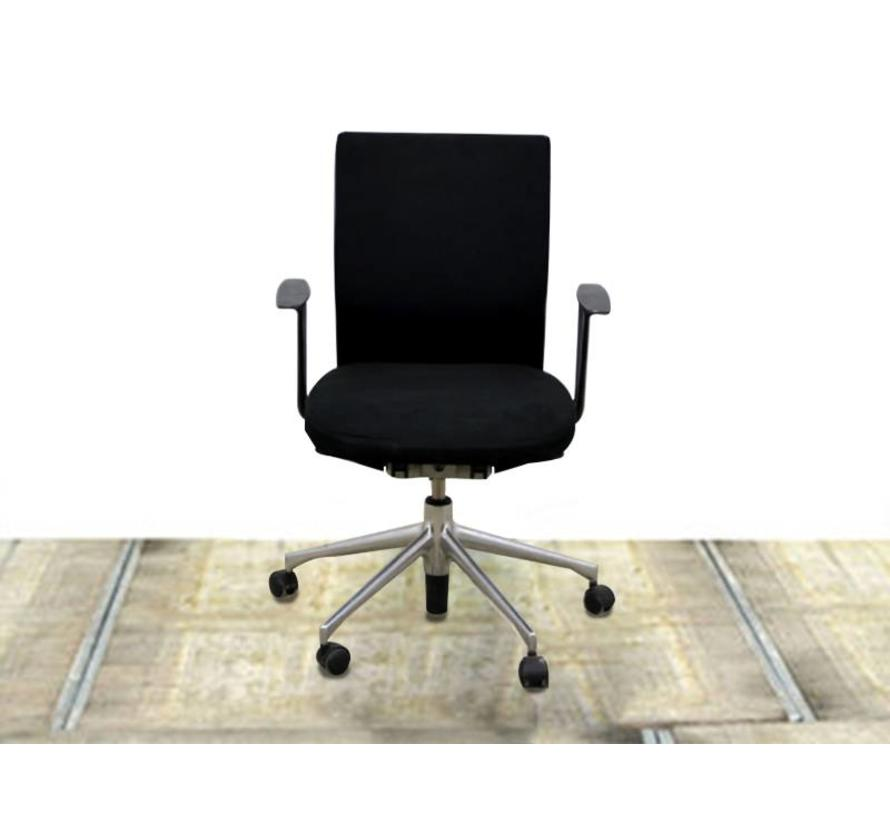 Bureaustoel Zwart Design.Vitra Axess Plus Design Bureaustoel Zwart Lamers Kantoormeubelen