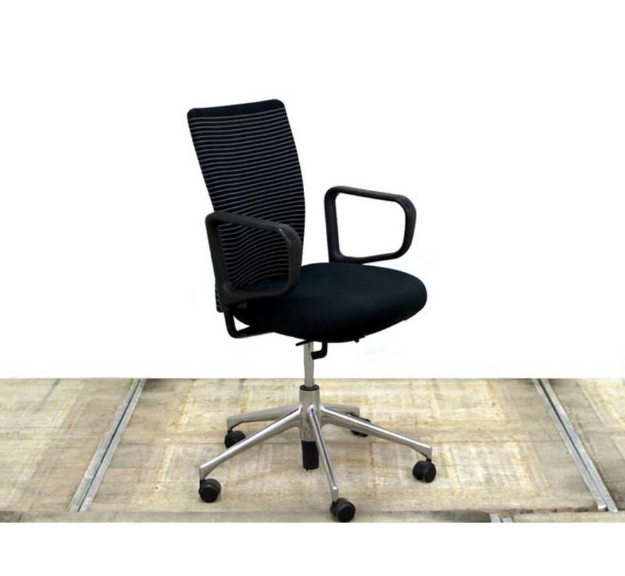 Vitra Bureaustoel Tweedehands.Vitra T Chair Design Bureaustoel Zwart Lamers Kantoormeubelen