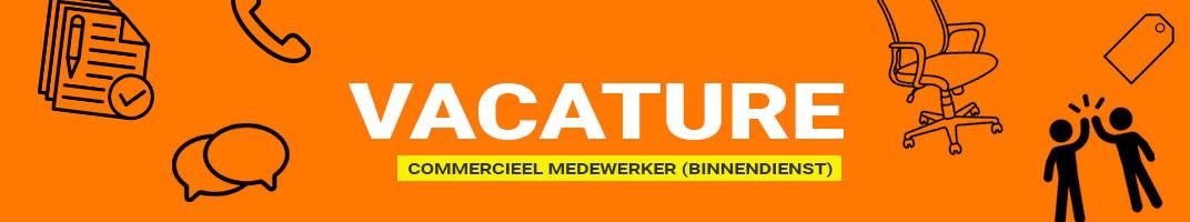 Vacature Commercieel Medewerker regio Zwolle