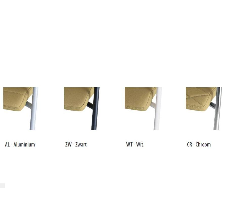 Vergaderstoel Alfa 4-Poots Lage Rug Netbespanning