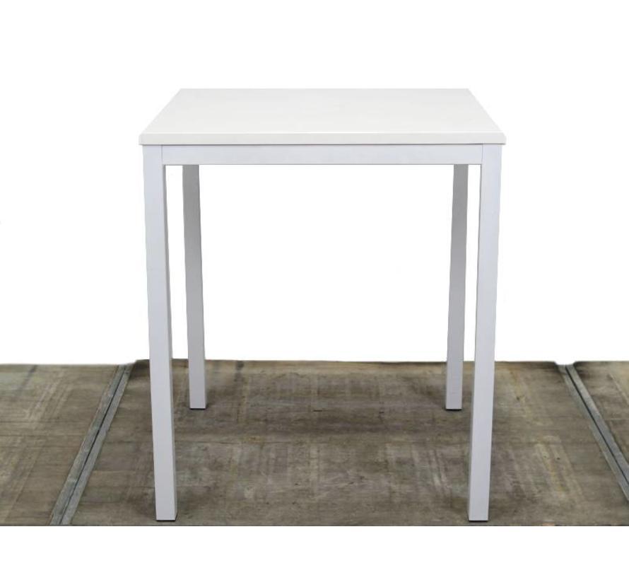 Vervoort Kantinetafel Wit | 80x80x93