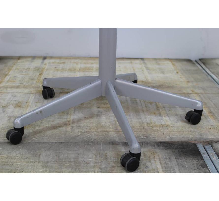 Kantinetafel Verrijdbaar | Kersen Blad - Aluminium Onderstel