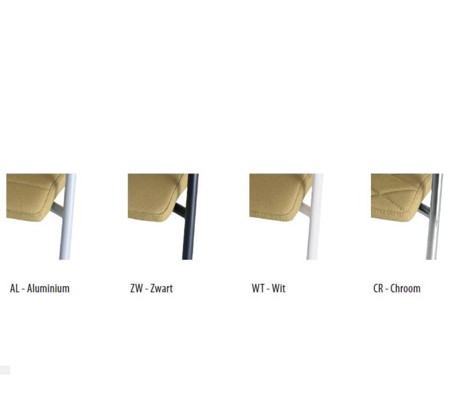 Vergaderstoel Alfa 4-Poot Hoge Rug Netbespanning