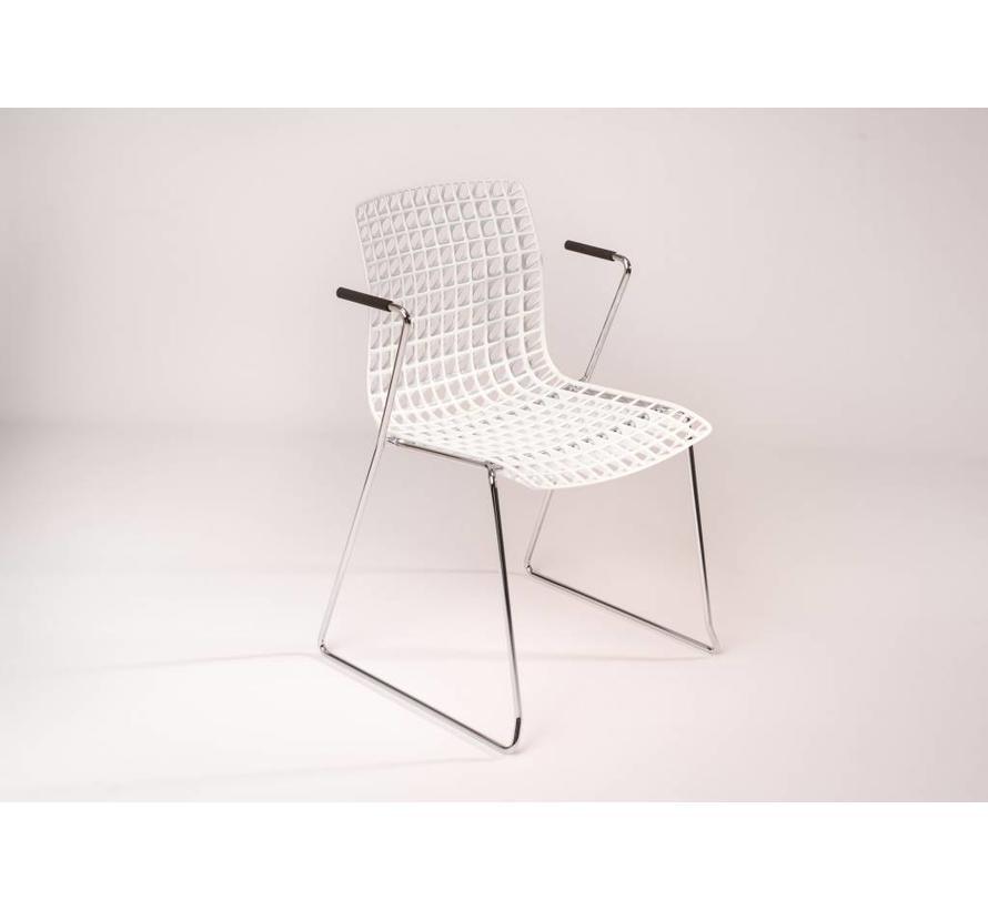 Moiré Designstoel met Armleggers
