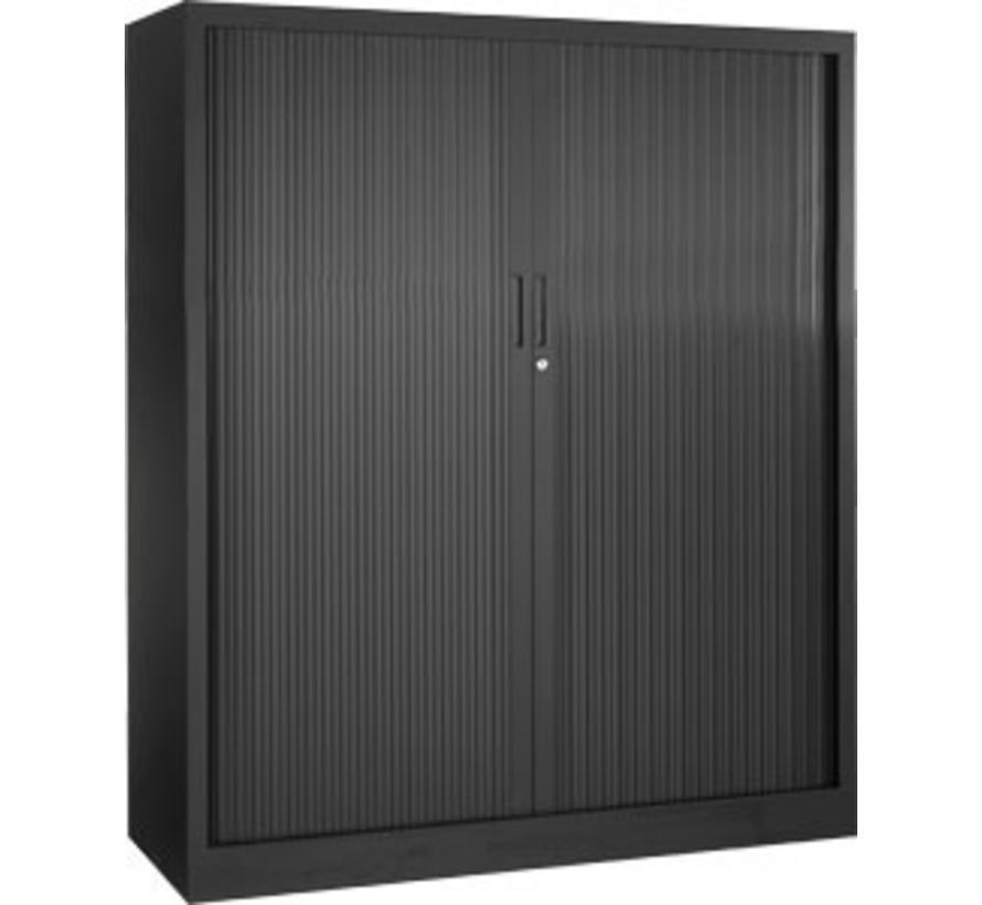 Store Roldeurkast Nieuw 135 x 120 x 43 cm | 2 Legborden - Verschillende kleurstellingen