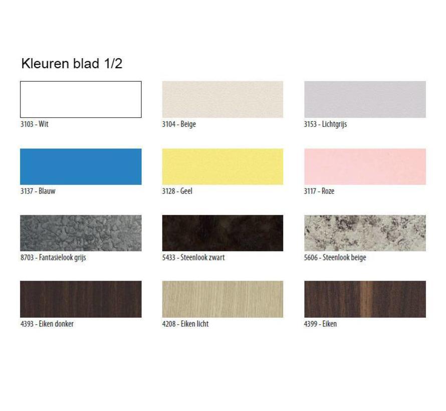Corner Tafel Vierkant - Andere Bladkleuren op aanvraag