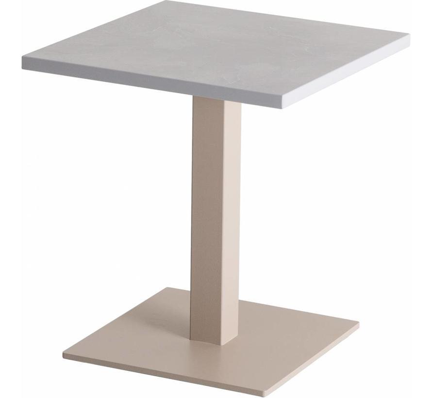 Pipe Lounge Tafel Vierkant - Verschillende Versies
