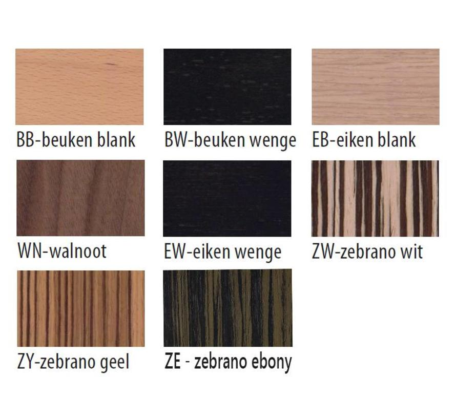 Oscar Wachtkamerbank 2-Zits + Tafelblad