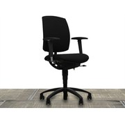 Drabert Drabert Entrada Bureaustoel Zwart | Zwart Voetkruis