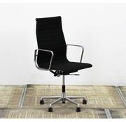Vitra Vitra EA 119 Bureaustoel | Zwart - Gepolijst Aluminium