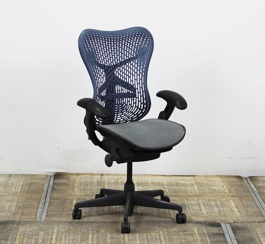 Herman Miller Mirra Bureaustoel | Blauw - Grijs