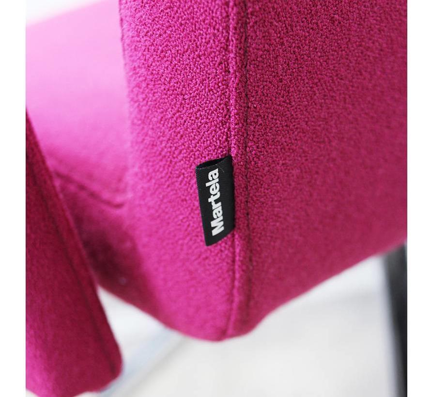 Martela Form 288AKR Vergaderstoel | Roze