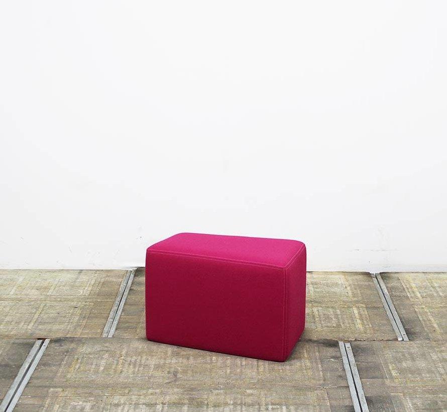 Martela Poef Diagonal Play | Roze